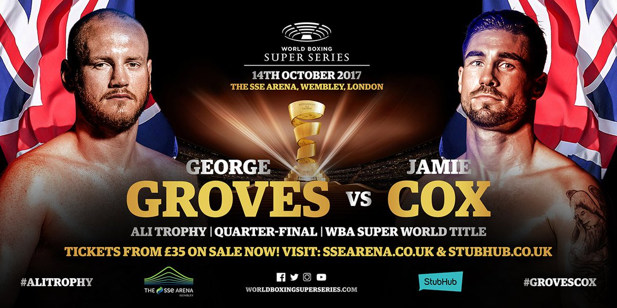Image result for George Groves vs. Jamie Cox pic