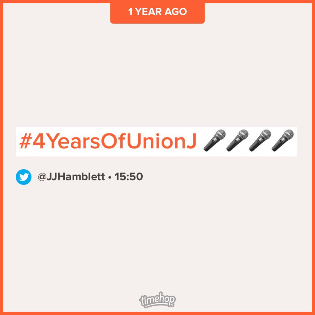 #5YearsOfUnionJ ❤️🎤❤️ https://t.co/Z0b7h...