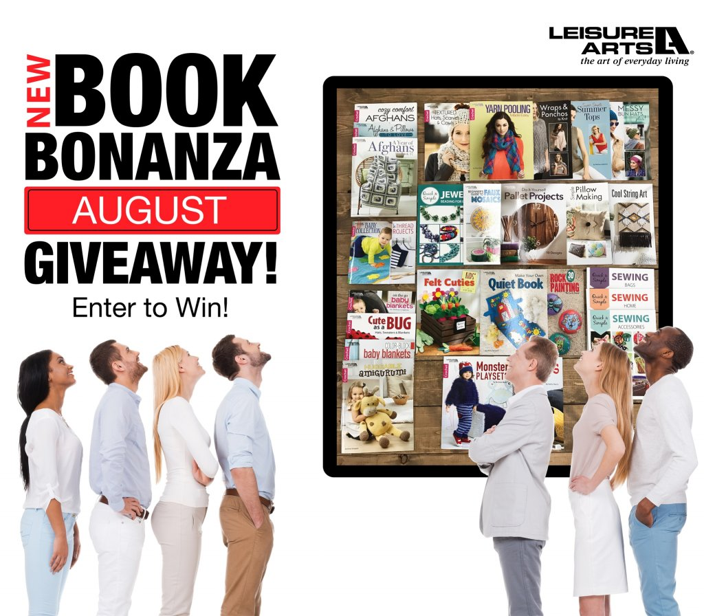 The Leisure Arts New Book #Bonanza #Giveaway  https://www. sweepstake.com/directory/4854 3/the-leisure-arts-new-book-bonanza-giveaway &nbsp; … <br>http://pic.twitter.com/9lnSVltnFp