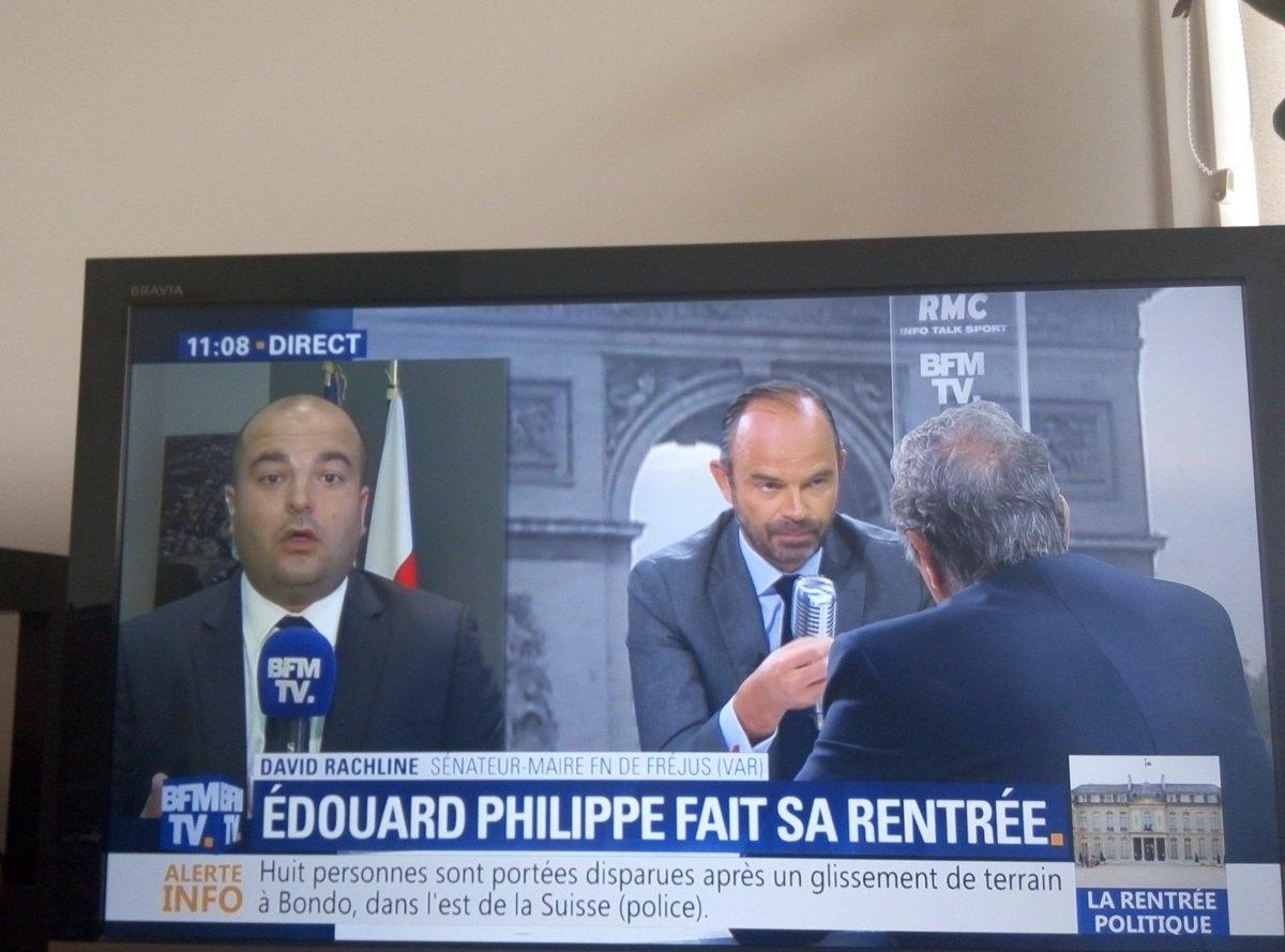 Retour de vacance et rien ne change chez #BFNTV ... #BFMTV #EdouardPhilippe