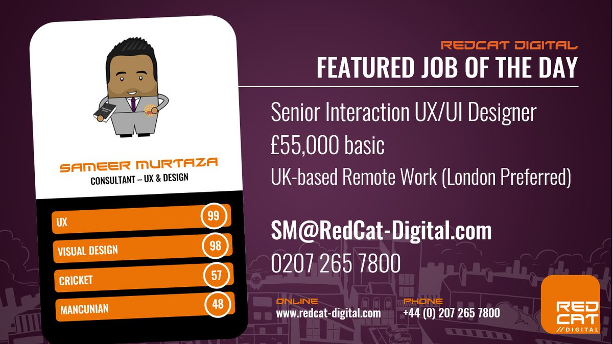#Hiring a Senior #UX/#UI #Designer for a Global #Technology Platform, designing #webapps, #IOS and #android #apps  http:// bit.ly/2wAGXFe  &nbsp;  <br>http://pic.twitter.com/7IpxSM7l6I