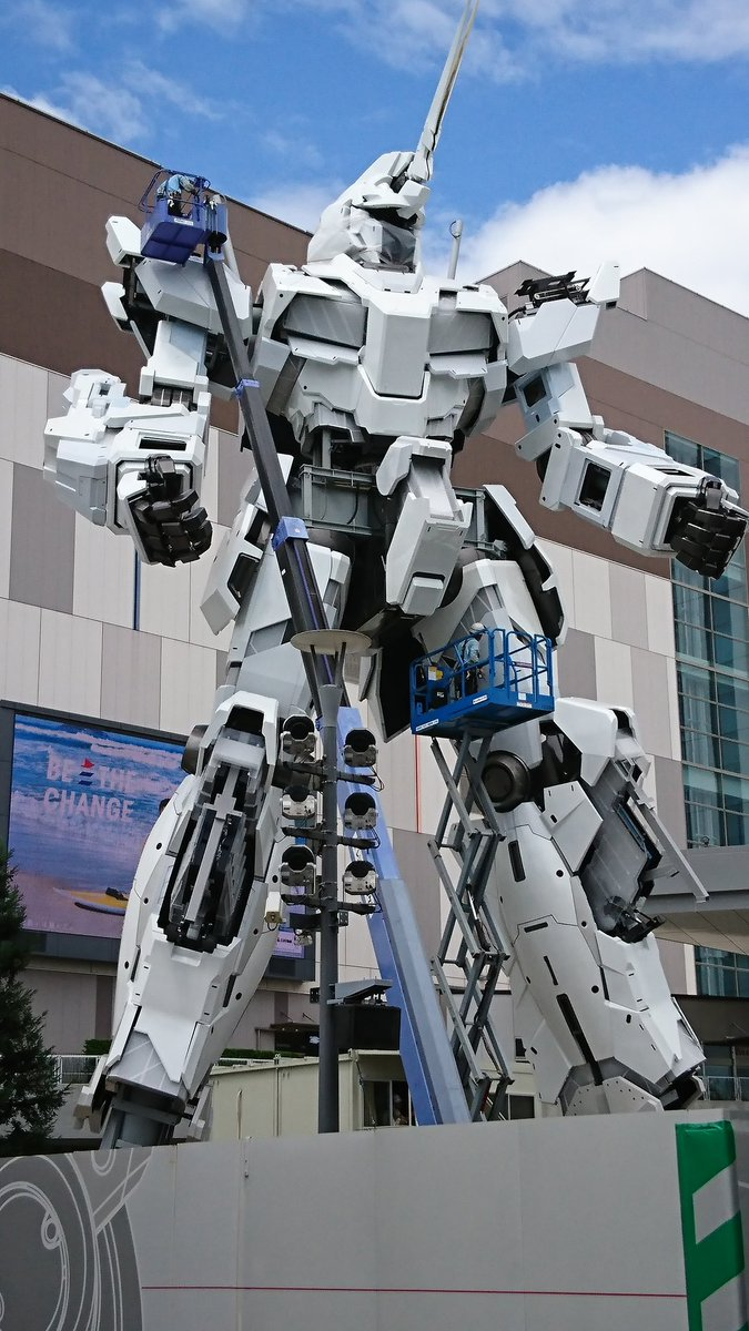 Tokyo's new life-size Gundam giant robot statue to open to public next month https://t.co/o2JHZBrwd6 #japannews https://t.co/BbkDBMxnPv