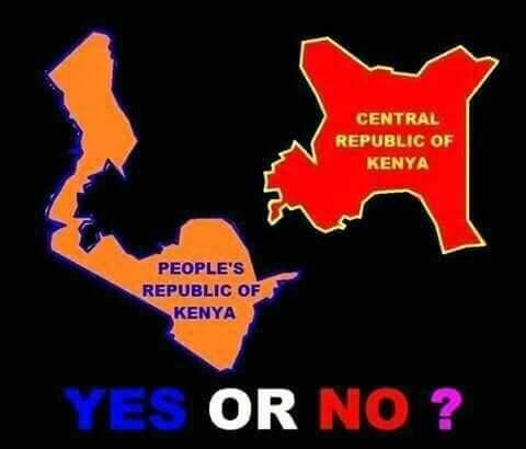 Robert ALAI HSC On Twitter Two Kenyas Peoples Republic Of - Peoples republic map
