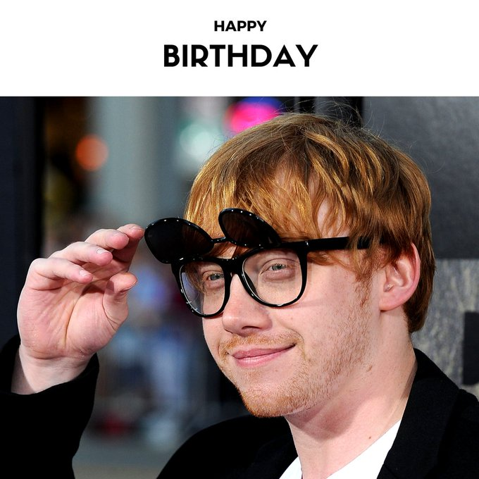 Wishing our dearest (Rupert Grint) a very Happy Birthday