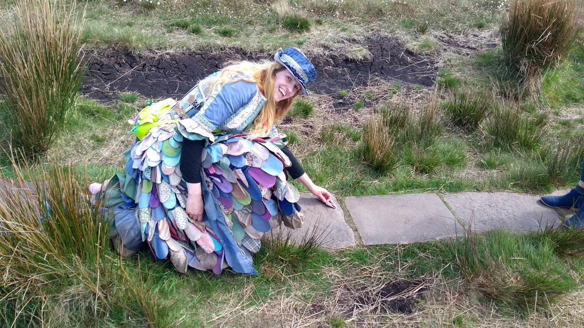 Can&#39;t wait to return to @greenbelt with my #thousandmiledress this week, to share tales of the adventure and food for thought! #Refugees <br>http://pic.twitter.com/PqCfljzvWr