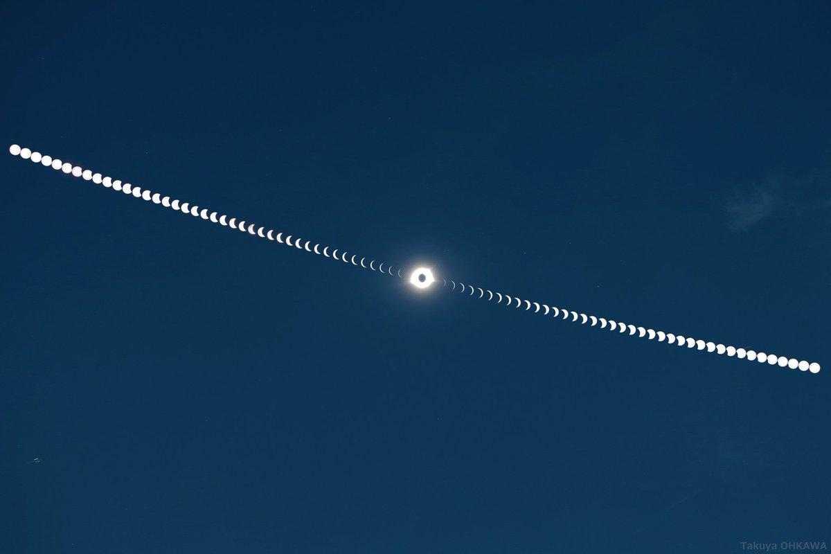 始まりから終わりまで、日食のぜんぶ。 https://t.co/j3Bz9Vcf3w