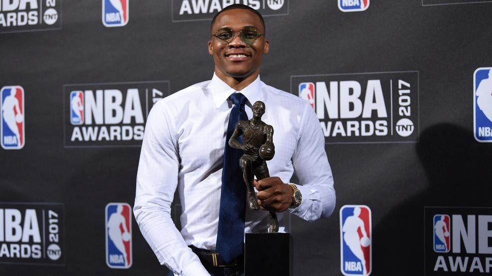 Russell Westbrook: NBA MVP, record breaker, father...and now author https://t.co/7JSnVxAATw