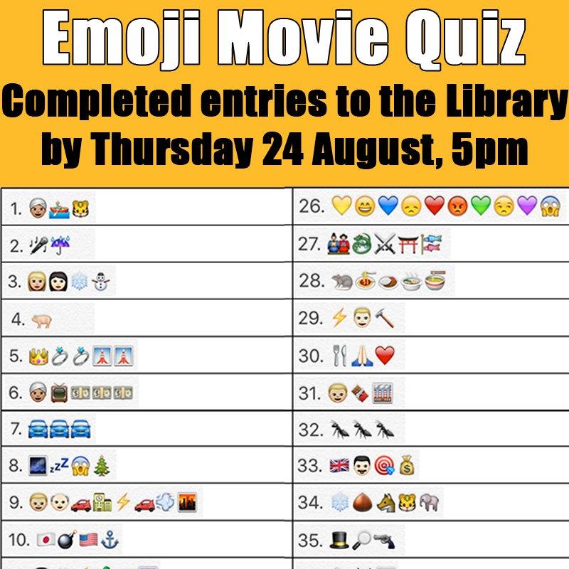 Movie Quiz Emoji - QUIZ
