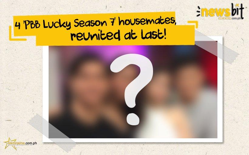 4 \'PBB Lucky Season 7\' housemates, reunited at last! SEE HERE: