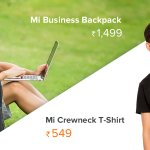 Introducing Mi Business Backpack priced at ₹1,499 and Mi Crewneck T-shirt for ₹549! Sale starts tomorrow @ 10 AM on https://t.co/nVqFSYMyzY