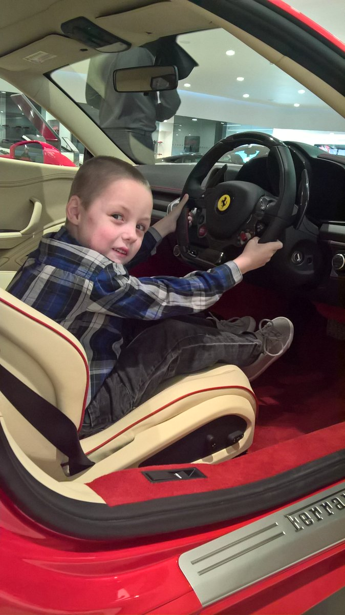 My autistic boy Jacob 7 he&#39;s #ferrarigp nuts and #vettell and #kimis biggest fan, hell be watching all wkend and hoping for a ferrai 12 #spa <br>http://pic.twitter.com/P8Jt0xbLw0
