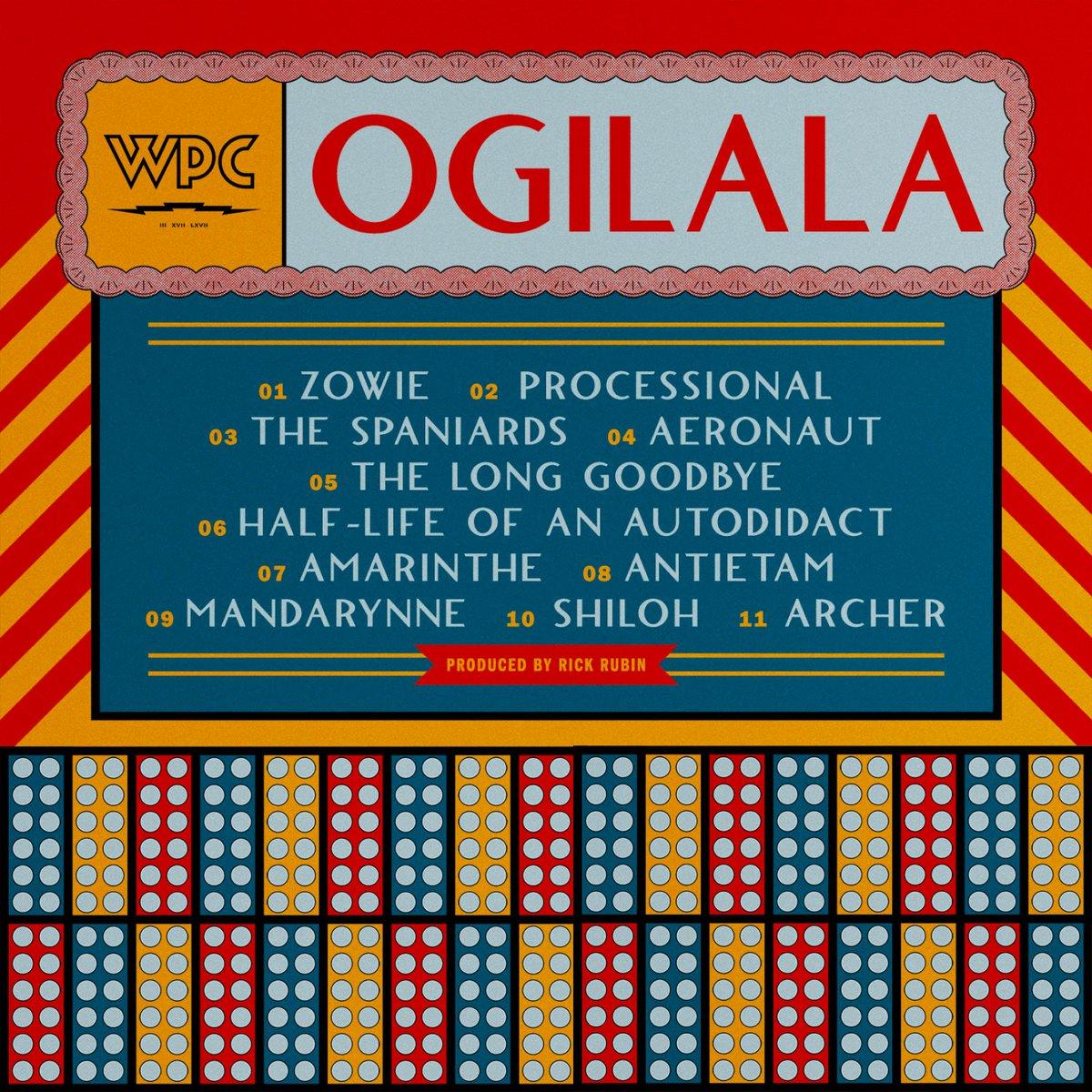 Новый альбом Билли Коргана «Ogilala»