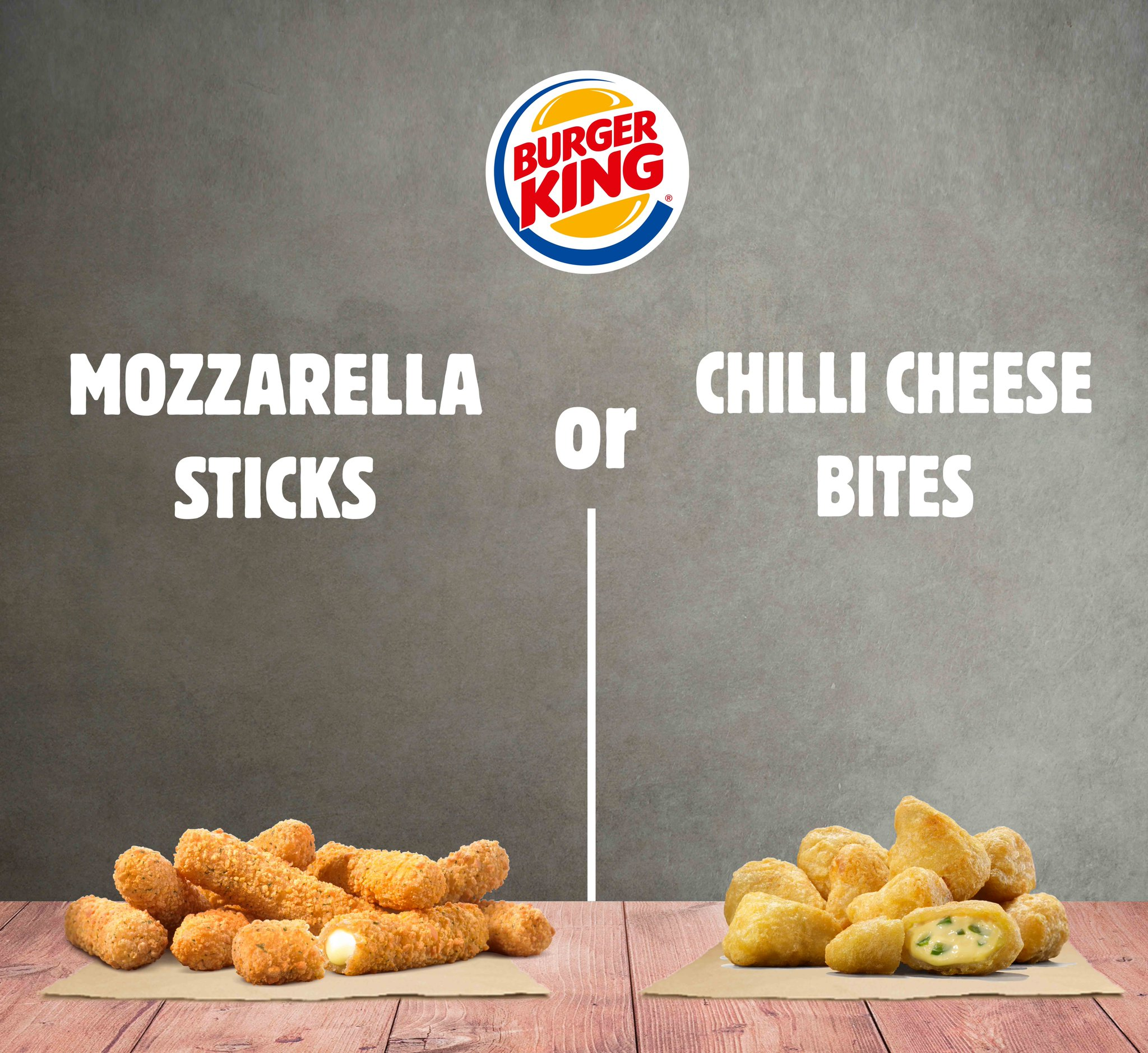 Cheese mcdonalds chili nuggets Burger King