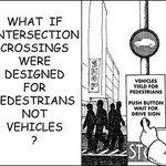 Imagine if all Cities were designed around their No1 customer? #humancentereddesign #peoplefirst #VisionZero