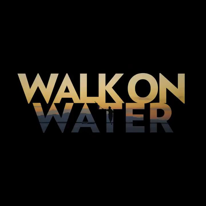 The wait is over. WALK ON WATER - available everywhere. Watch the Lyric Video NOW: https://t.co/cKbqgoOkE9 https://t.co/Twc87I6f7y