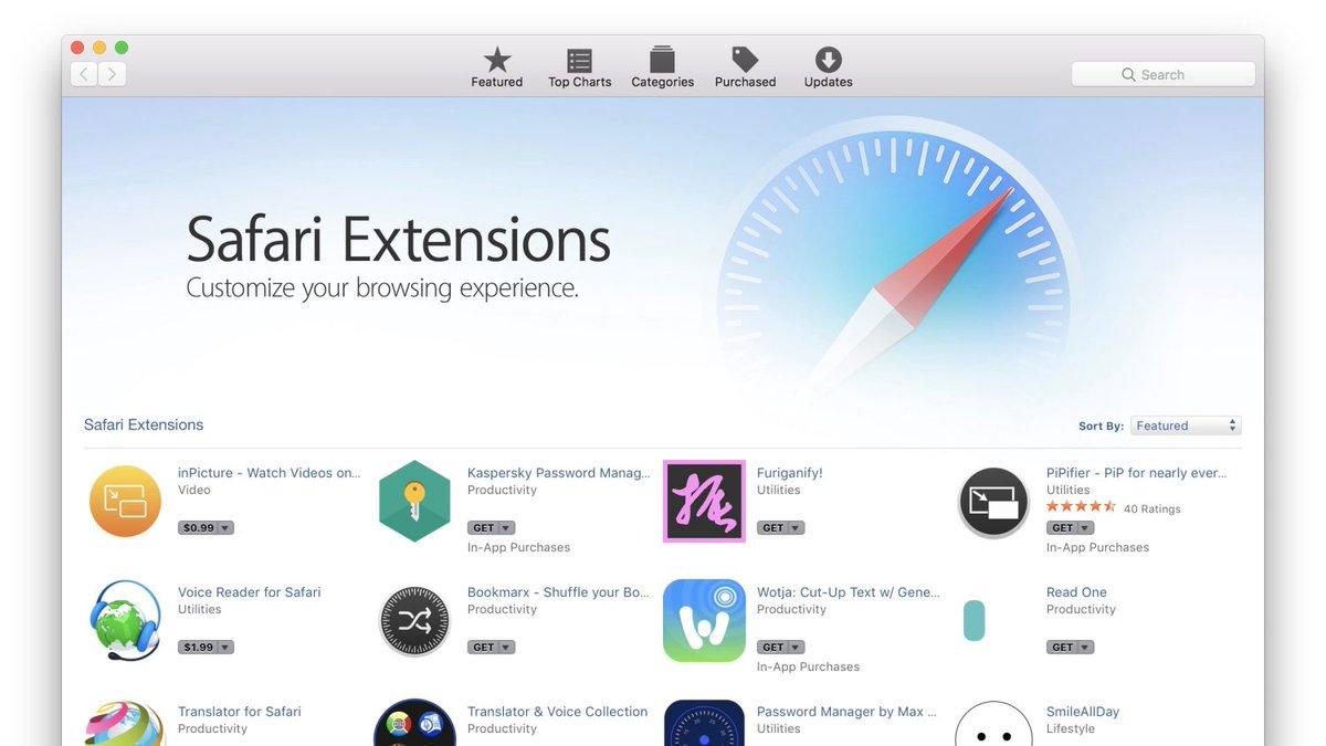 Apple aggiorna la pagina web dedicata alle estensioni Safari https://t.co/sSPrvHpAMG https://t.co/uOL3wT1sbG