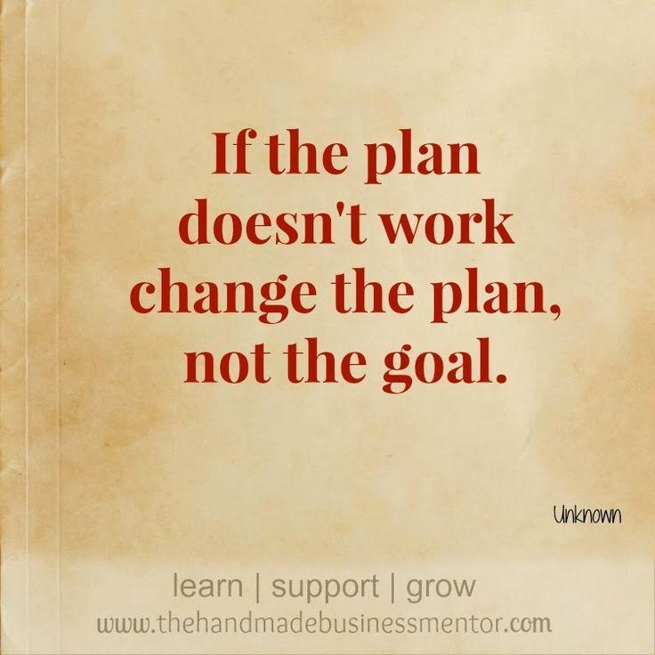 Don&#39;t change the goal, change the plan, try until you reach your #goals #business #plan #quotes #motivational #success.<br>http://pic.twitter.com/AL5ebGGPqT