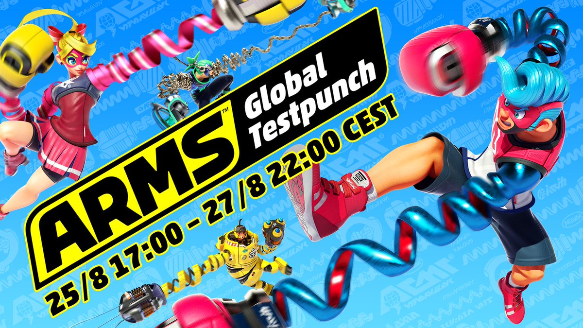 Arms (Nintendo Switch) DH0gbpiXUAI4S6v