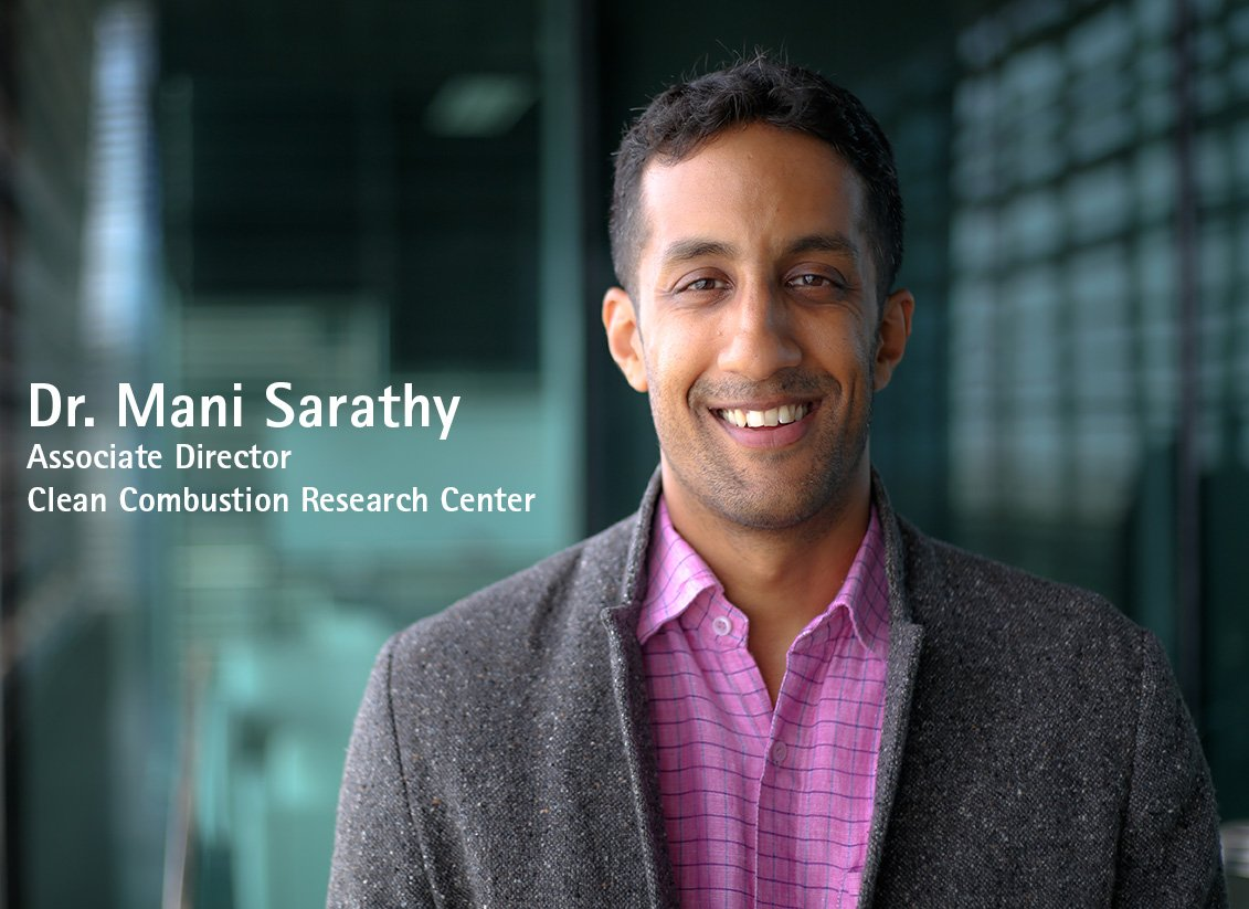 We are pleased to announce that Prof. Mani Sarathy has accepted the #position of Associate #Director of #CCRC   https:// goo.gl/x3Fbsr  &nbsp;  <br>http://pic.twitter.com/RiLKZGzIZX