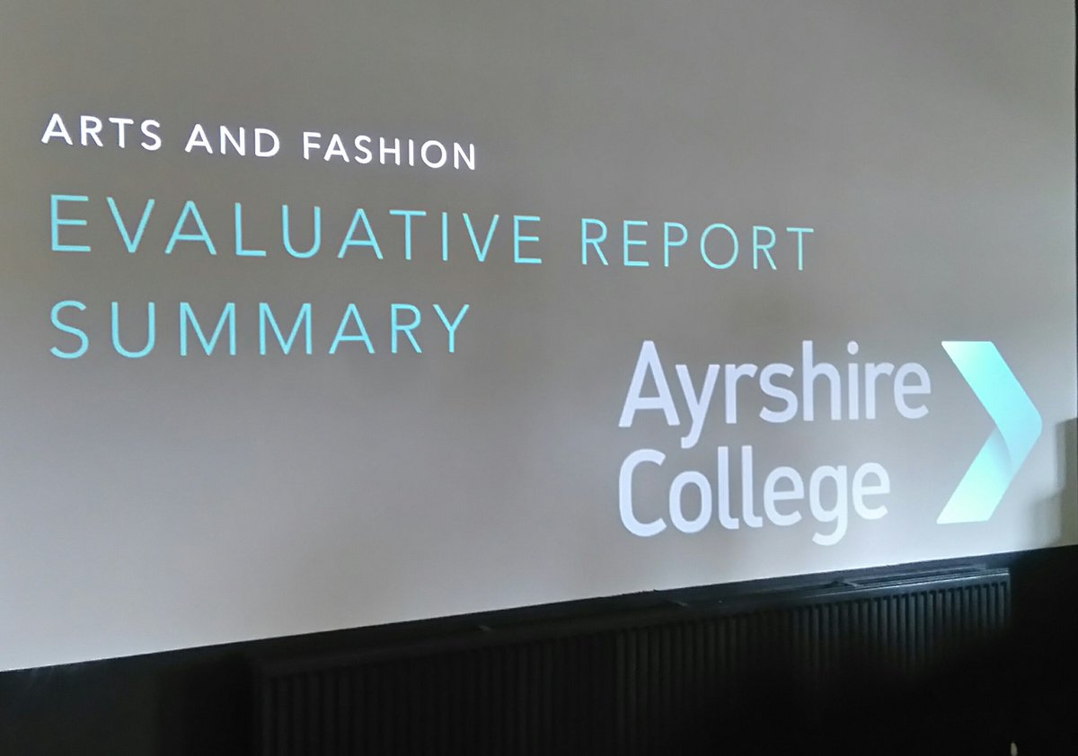 @AyrshireColl #evaluation #CreativeIndustries here we go <br>http://pic.twitter.com/tsGeTKfIoW