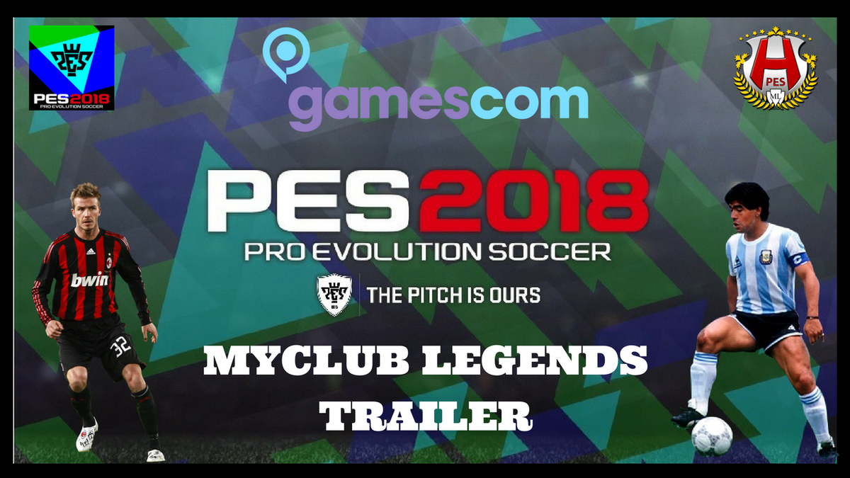 And another! @officialpes #pes2018 #myclub #legends trailer from @Konami. #Maradona #Beckham #LFC #BVB #gamescom2017  https:// youtu.be/xZkQittO1IU  &nbsp;  <br>http://pic.twitter.com/I3tmGNjtcM