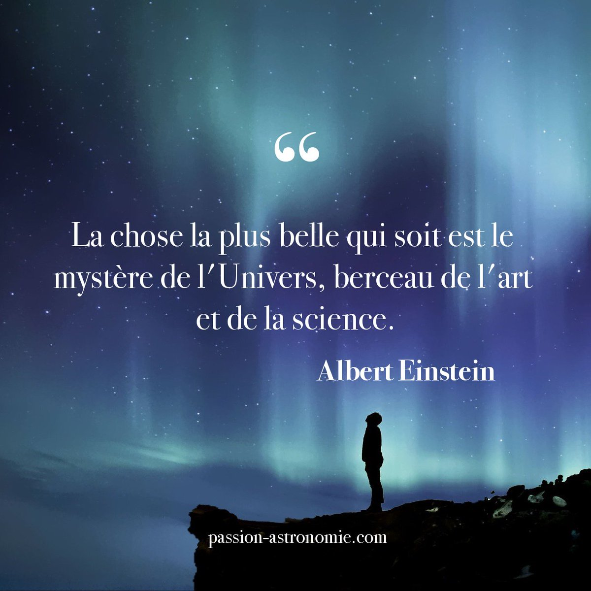 Twitter पर Passion Astronomie Magnifique Citation De