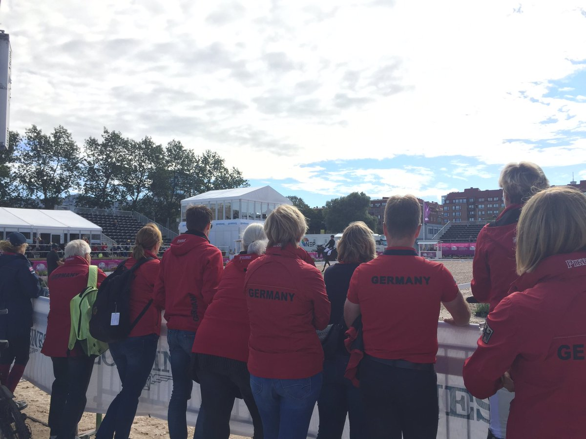 Team support out en masse in #Gothenburg2017 today! #FEIEuros2017