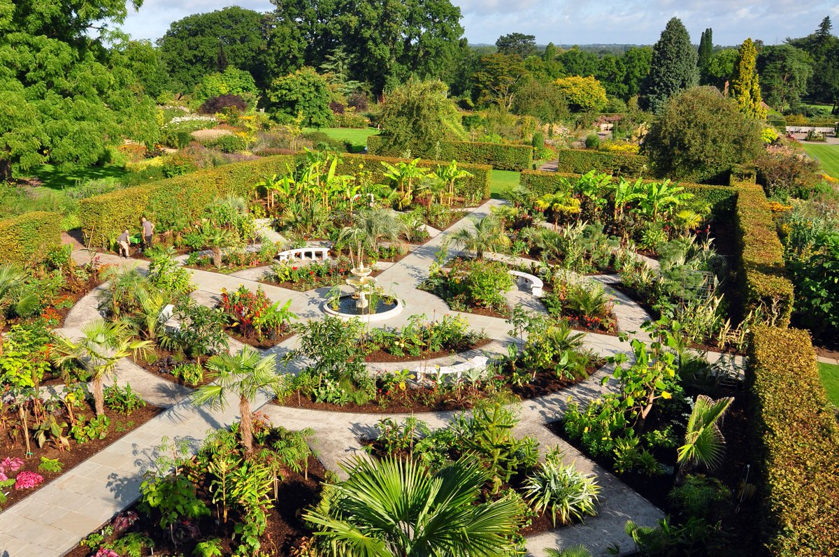 Rhs Garden Wisley On Twitter Our New Exotic Garden Showcases A Mix Of Hardy Exotics Including