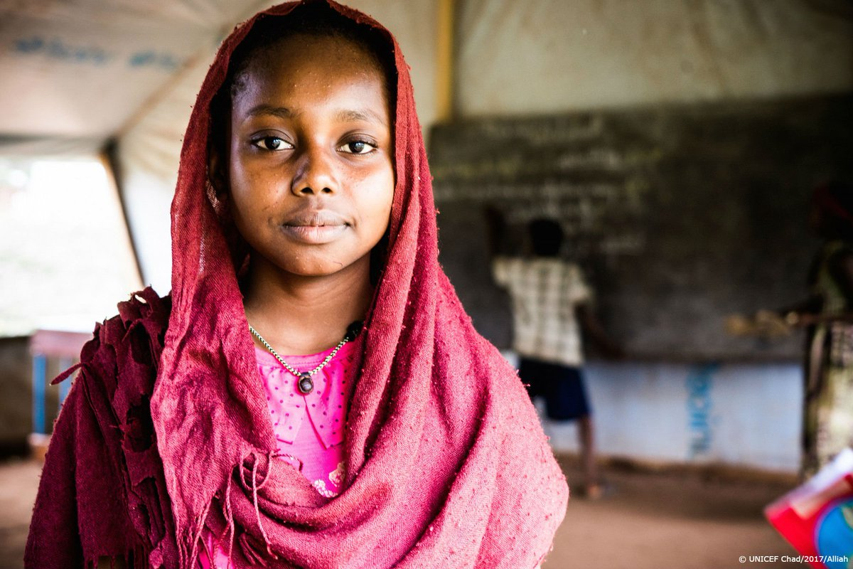 RT @UNICEF: One way to help keep #girls in school?  soap + water + sanitary pads → https://t.co/I1V0WsWsRa https://t.co/Q5WW3Yf5wh