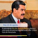 En total sintonia #VenezuelaHablaAlMundo @NicolasM...