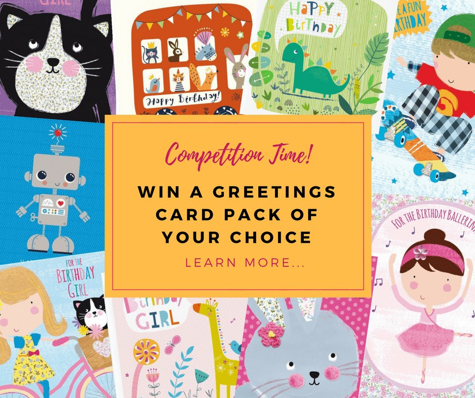 Hurry Ends 31st Aug. #COMPETITION #WIN a Greetings Card Pack of Your Choice.Follow &amp; RT/Sign up to our e-newsletter.  https:// tinyurl.com/y922bj3h  &nbsp;  <br>http://pic.twitter.com/p3yatvcDPw