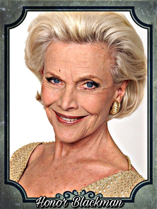 Happy Birthday Honor Blackman, Valerie Harper, Steve Davis & Sheree Murphy