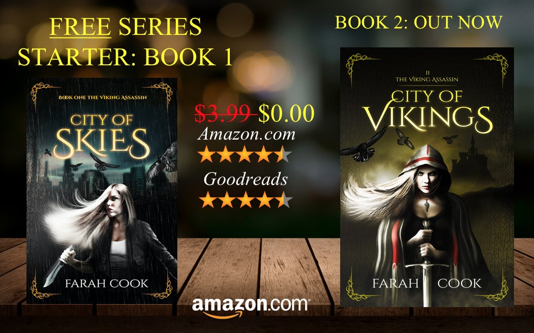 #FREE SERIES STARTER! Fast-paced #fantasy saga CITY OF SKIES - THE #VIKING #ASSASSIN SERIES #BOOK 1 #kindle #books  http:// buff.ly/2ltc5wi  &nbsp;  <br>http://pic.twitter.com/5SKINIpjXw