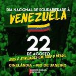 RT @VillegasPoljak: Solidaridad desde Brasil #Vene...