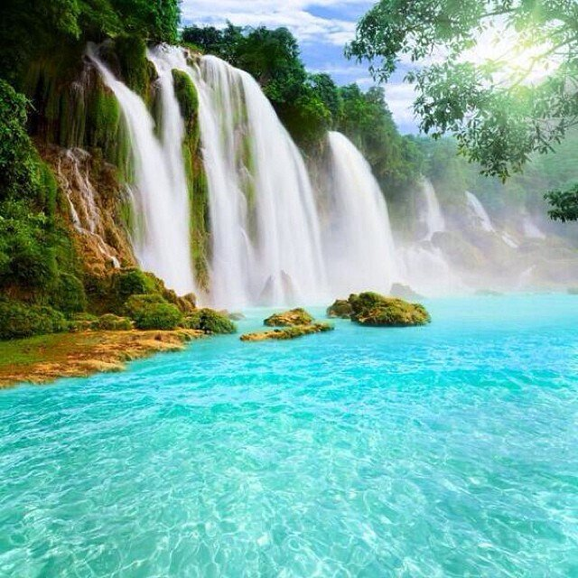 Detian Waterfall  #China #travel #travelnow #travelmore #visit #beautiful #awesome #cool #TTOT #RT #wanderlustXL<br>http://pic.twitter.com/4sGQX3AvgQ