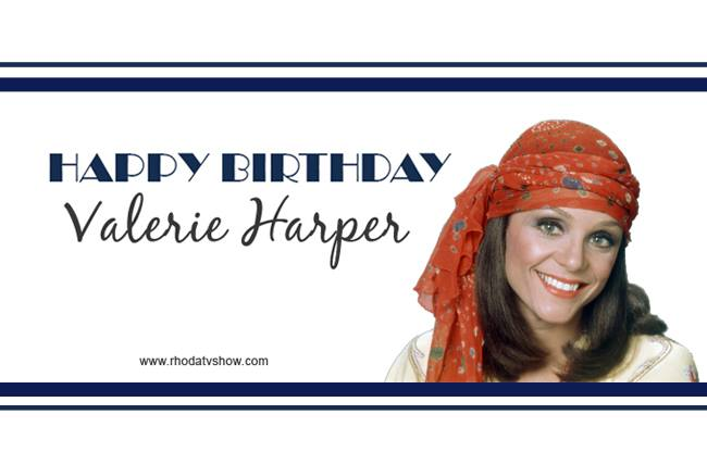 Wishing Valerie Harper a very Happy Birthday! --