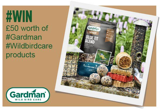 #win £50 worth of #Gardman #WildBird Care products FOLLOW &amp; RT by 12pm September 11th  http:// ow.ly/jDGT30ekEuy  &nbsp;   #birding #competition<br>http://pic.twitter.com/gyiMaG23o5
