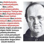 RT @EkinCyl: İyi ki doğdun #UğurMumcu Fikirlerin b...