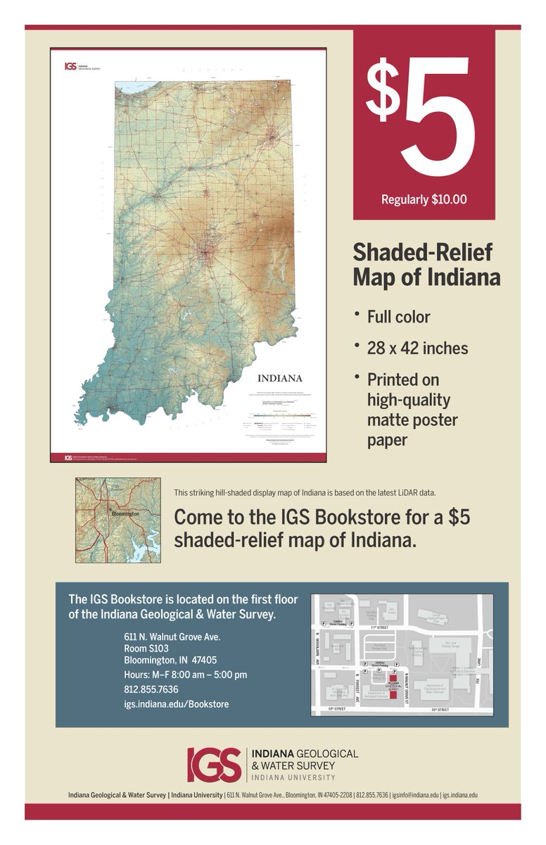 Igs On Twitter Welcome Back Iu Map Specials For All New Students