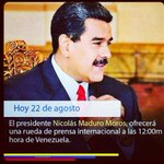 RT @oliverernesto: Hoy #VenezuelaHablaAlMundo para...