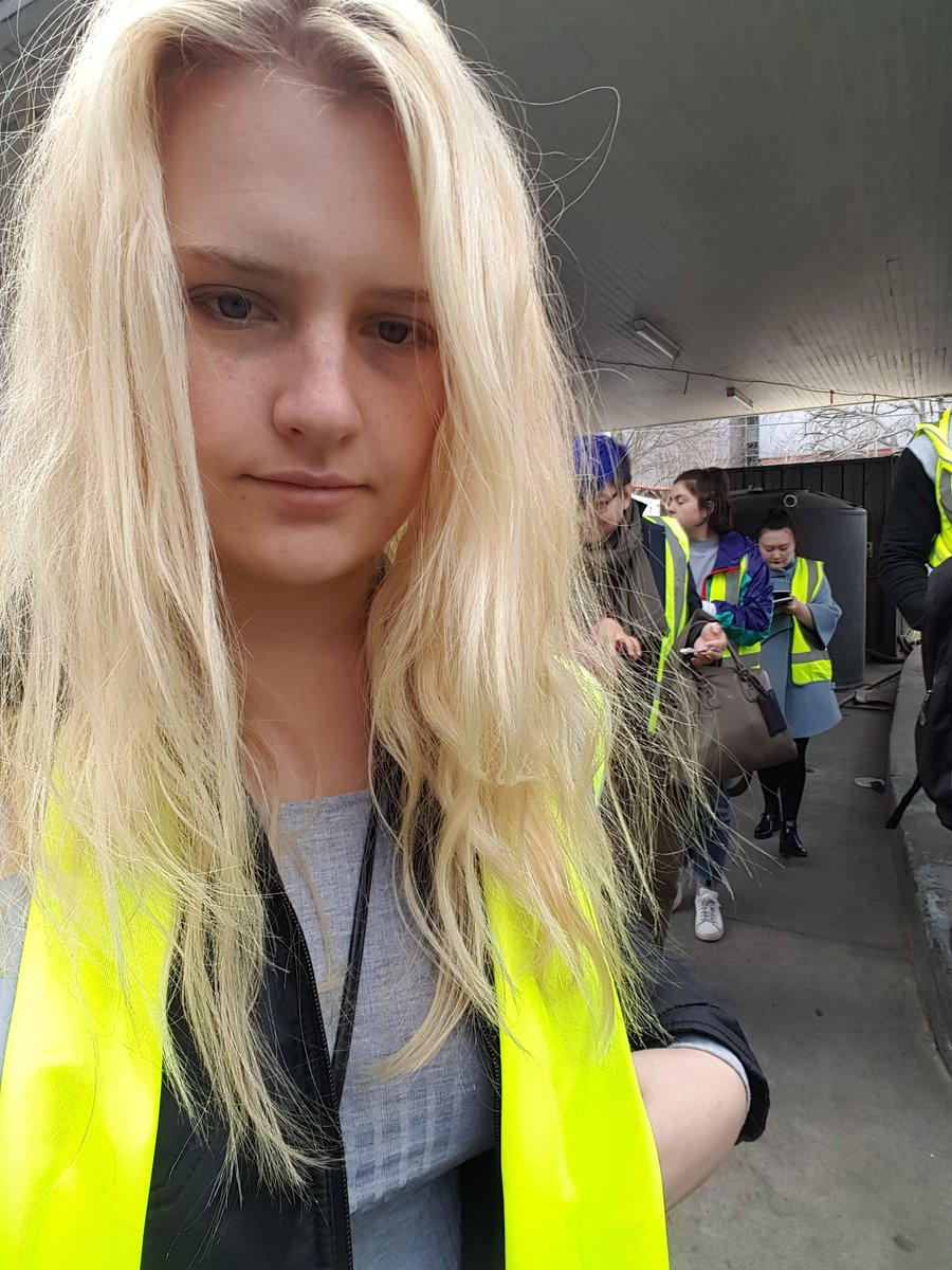 For some reason I was deemed important enough to wear hi-vis.  #contaminatedland #onsite <br>http://pic.twitter.com/iguOpI7ZKc