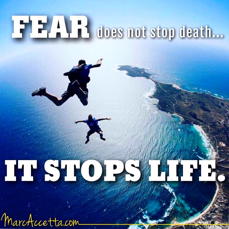 FEAR does not stop death...IT STOPS LIFE. #inspire #quotes #motivational #quoteoftheday #truth #fear #death #life<br>http://pic.twitter.com/k2YUV0Qihf