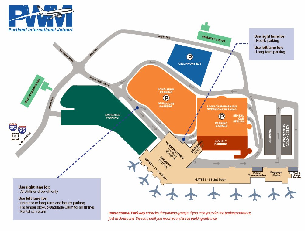 Portland Airport Long Term Parking >> Portland Jetport On Twitter Picking Someone Up At The