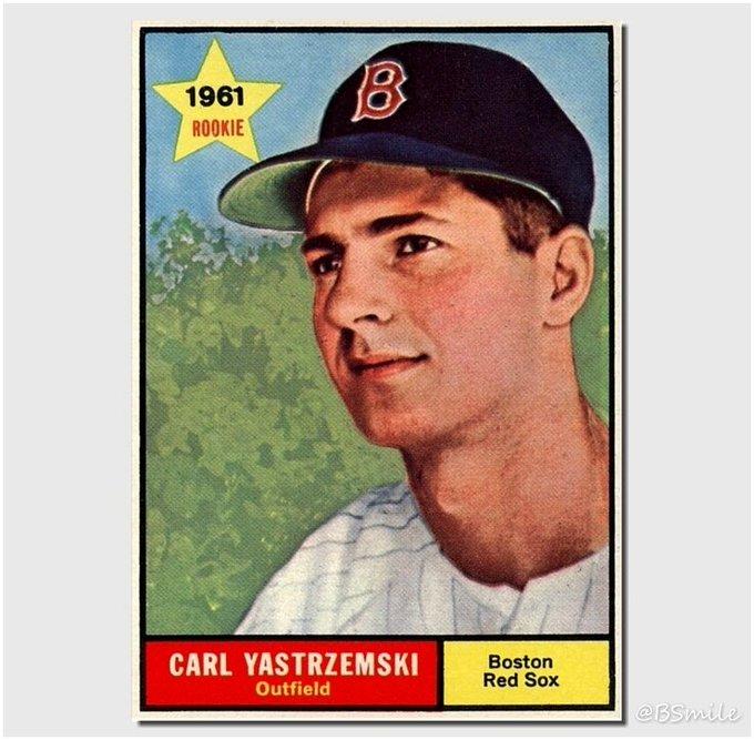 Happy 78th Birthday Yaz! All-time great Boston star Carl Yastrzemski was born on August 22, 1939
