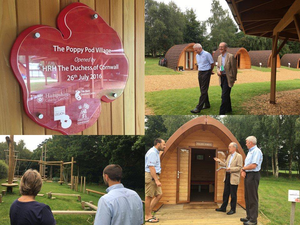 Loved visiting another shortlisted entry today, The Poppy Pod Village @TileBarnOutdoor, with our Rural Enterprise judges @hildonltd #Awards <br>http://pic.twitter.com/Kxj6KJkBO2