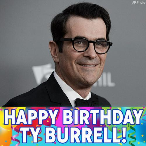 Happy Birthday to Ty Burrell! The and star turns 50 today.