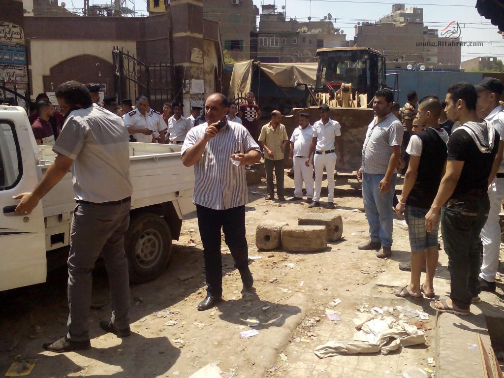 حملة مكثفة لحى دار السلام لتطهير المترو...