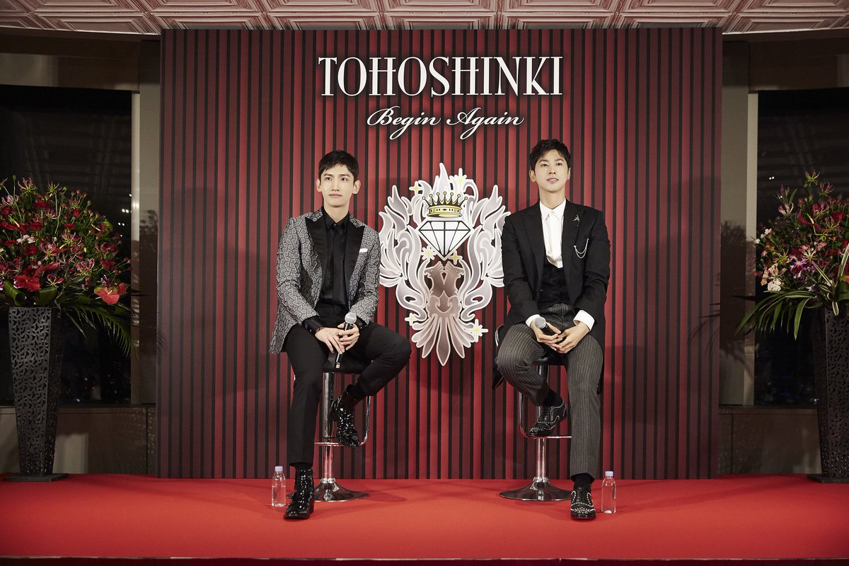 #TVXQ! successfully held 'Asia Press Tour' in Seoul and Tokyo.  💿Oct 25: 'FINE COLLECTION~Begin Again~' 🎤Nov 11: 3rd five-dome tour in Japan