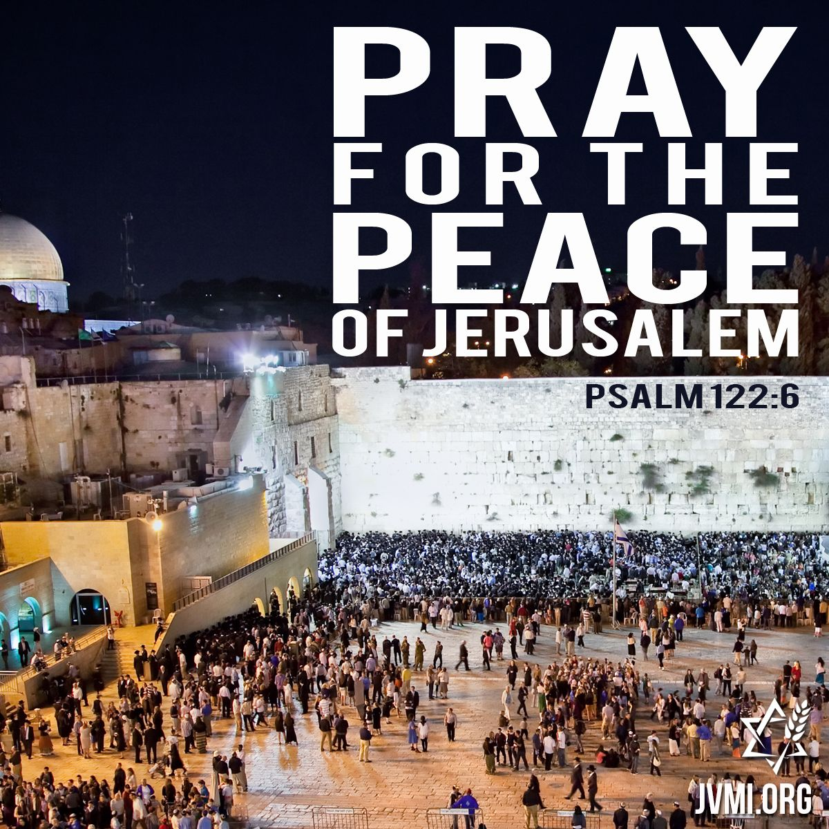 Pray for the peace of Jerusalem! https:/...