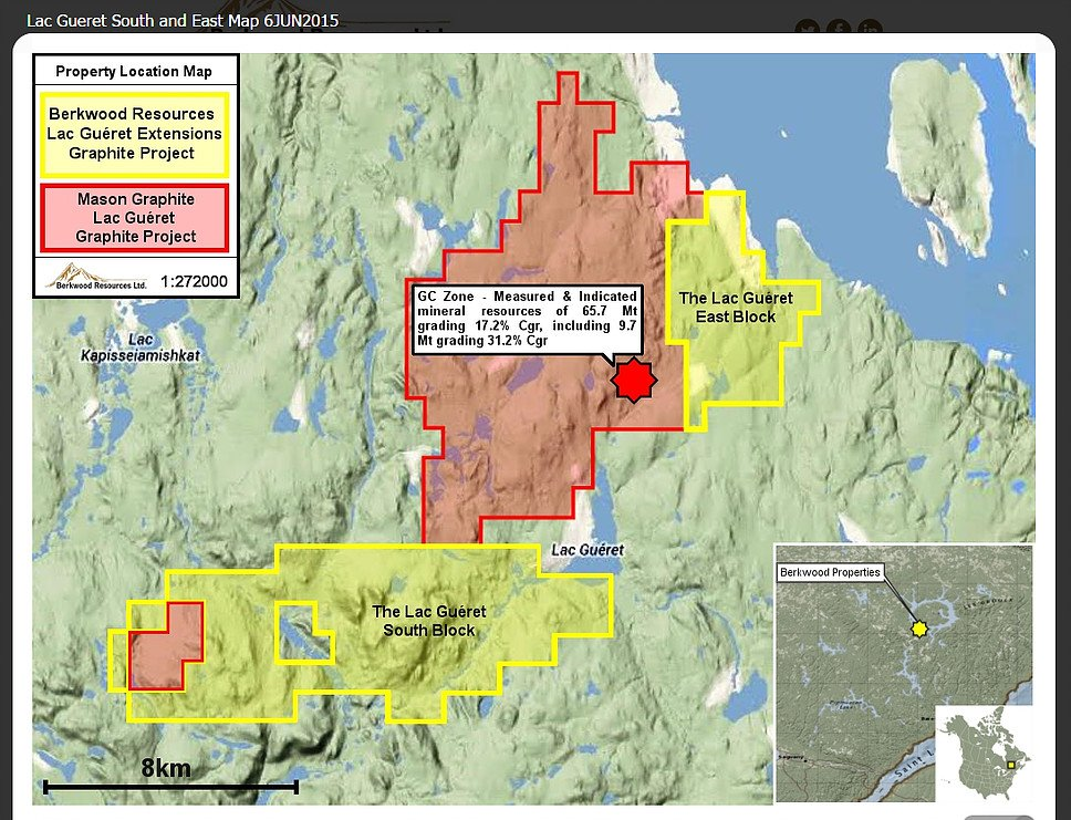 [BREAKING NEWS] Berkwood Drill Program Intersects Graphite at Lac Gueret South $BKR.V #tsx #tsxv #stocks #graphite  http:// berkwoodresources.com/berkwood-drill -program-intersects-graphite-lac-gueret-south/ &nbsp; … <br>http://pic.twitter.com/YWVzoTegHJ